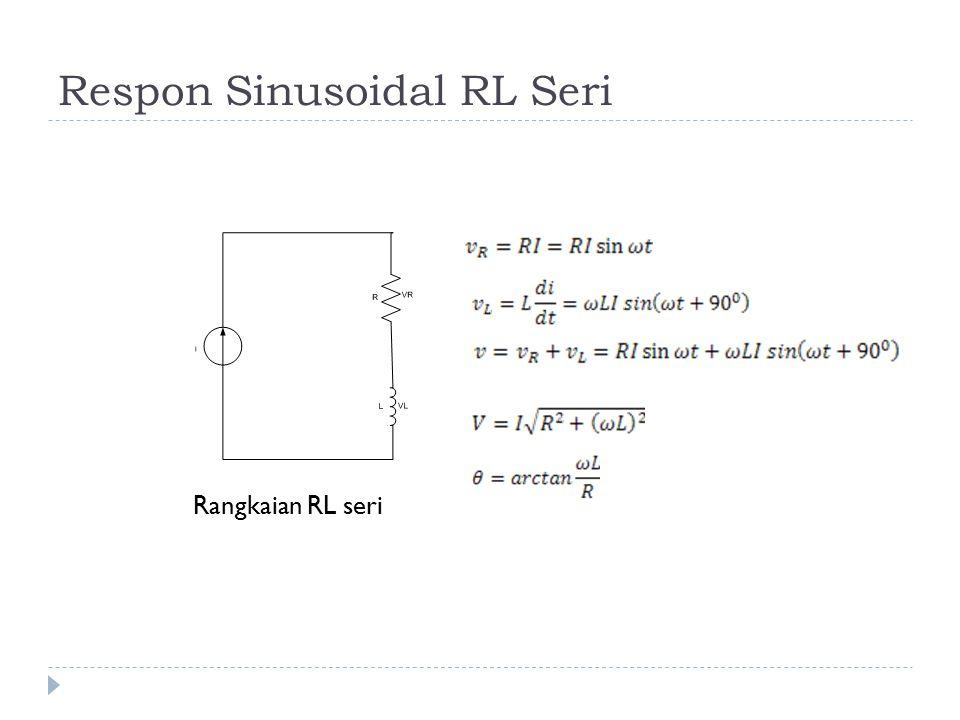 Respon Sinusoidal RL Seri