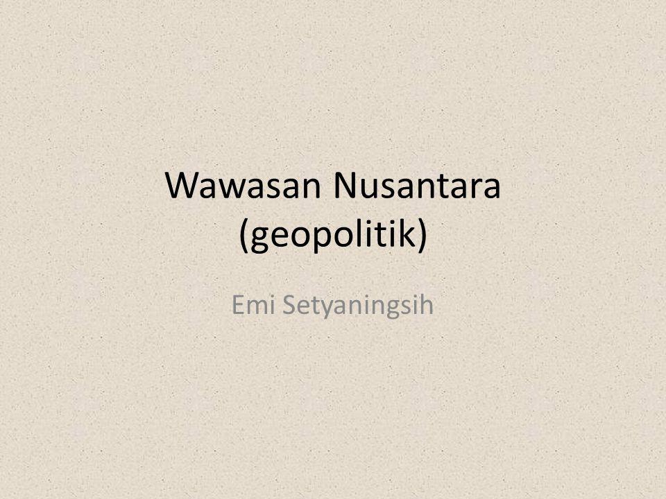 Wawasan Nusantara (geopolitik)