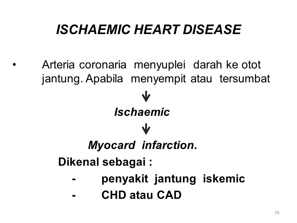 ISCHAEMIC HEART DISEASE