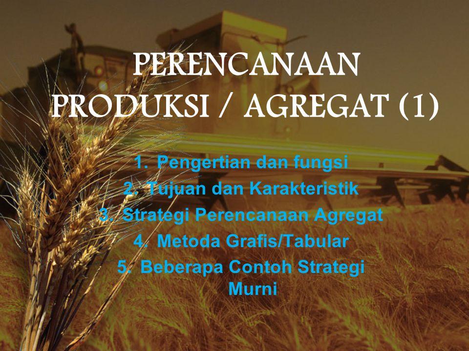 PERENCANAAN PRODUKSI / AGREGAT (1)