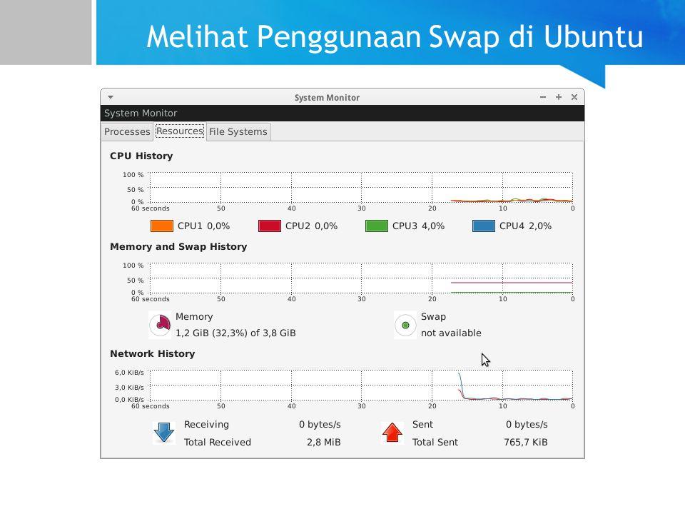 Melihat Penggunaan Swap di Ubuntu