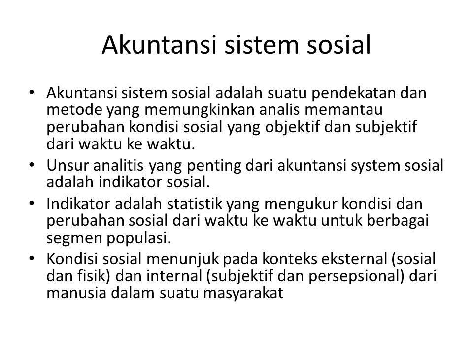 Akuntansi sistem sosial