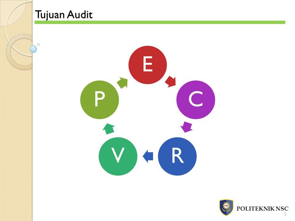 Tujuan Audit E C R V P POLITEKNIK NSC