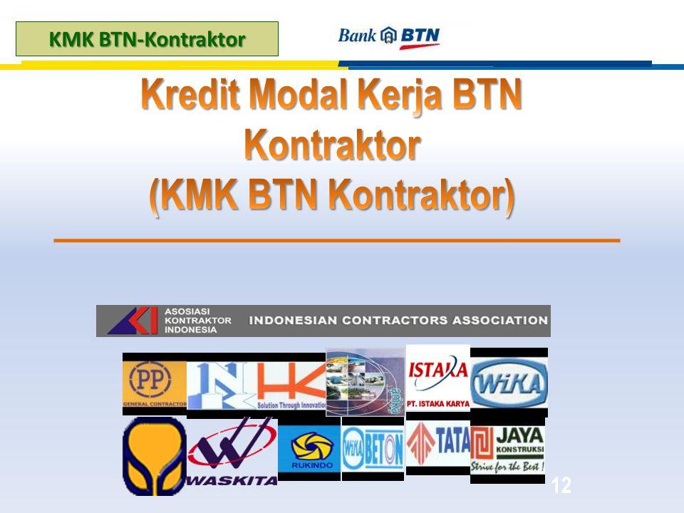 Kredit Modal Kerja BTN Kontraktor (KMK BTN Kontraktor)