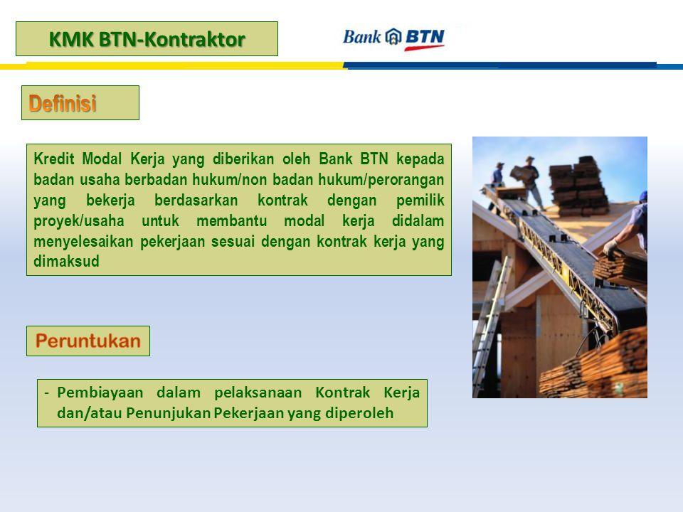 KMK BTN-Kontraktor Definisi Peruntukan
