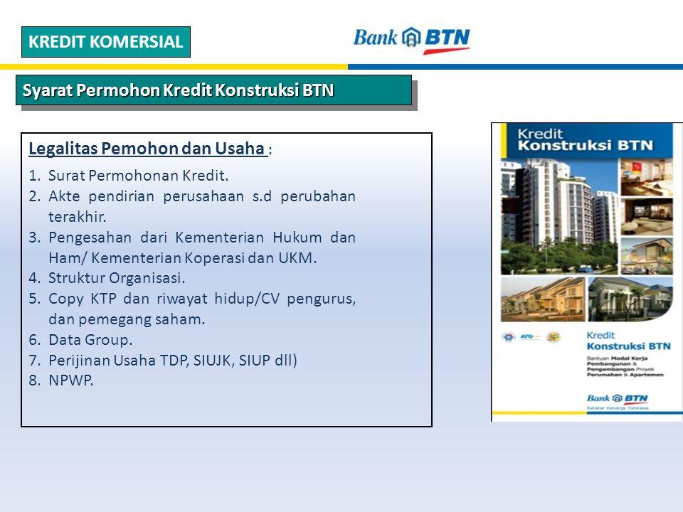 Syarat Permohon Kredit Konstruksi BTN