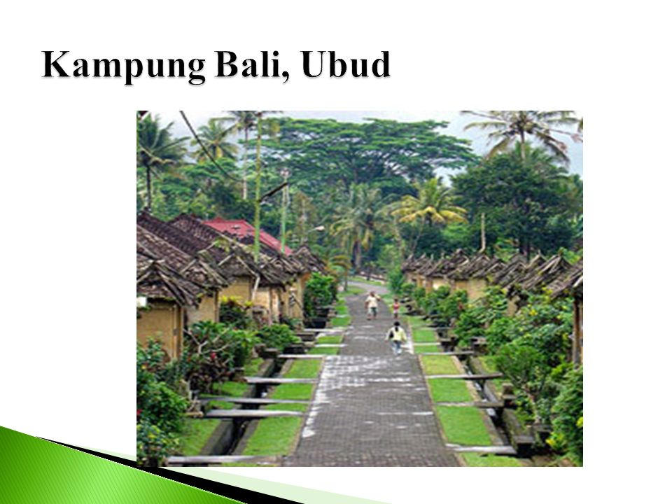 Kampung Bali, Ubud
