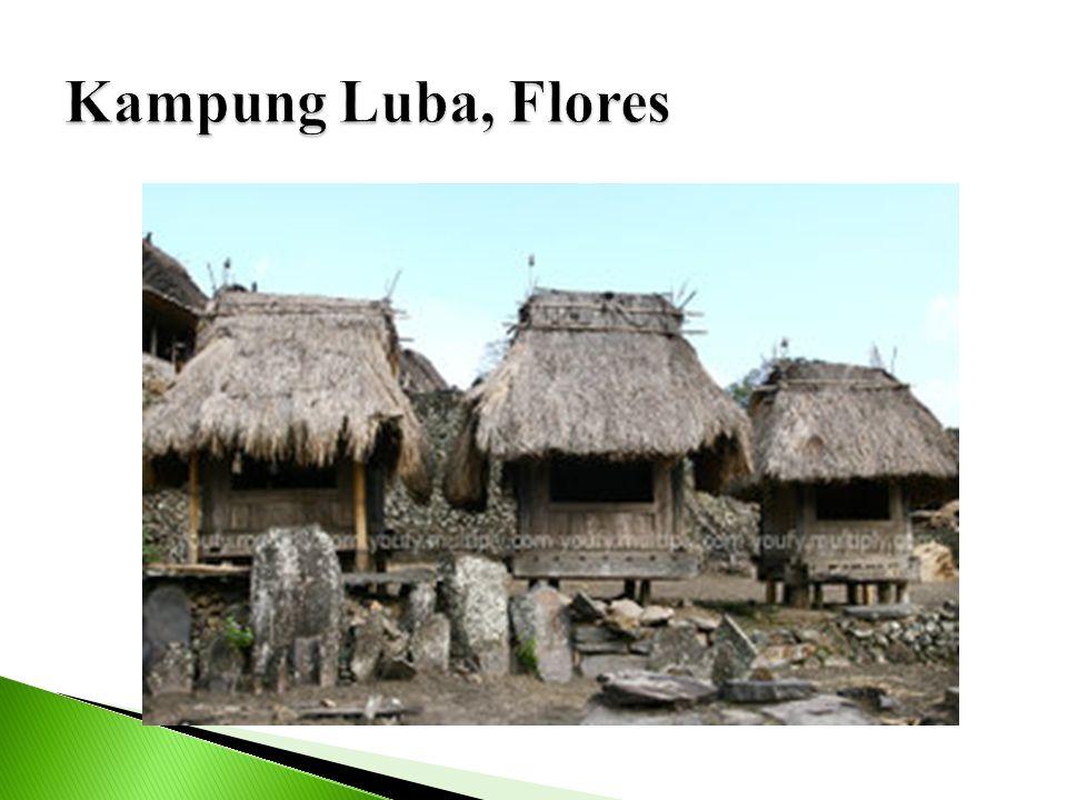 Kampung Luba, Flores