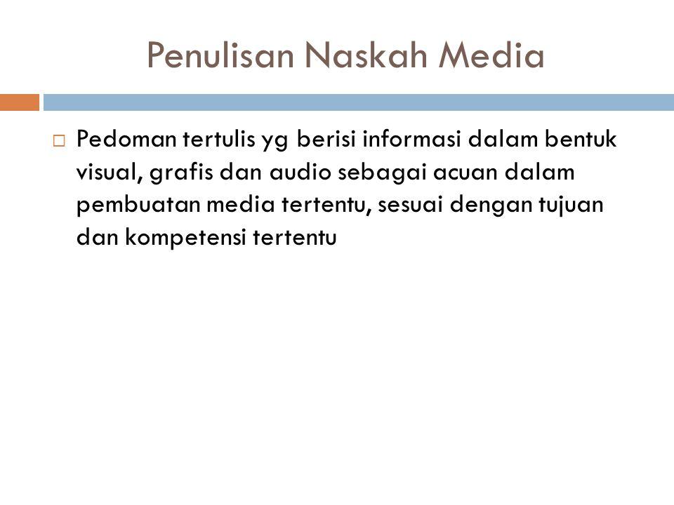 Penulisan Naskah Media