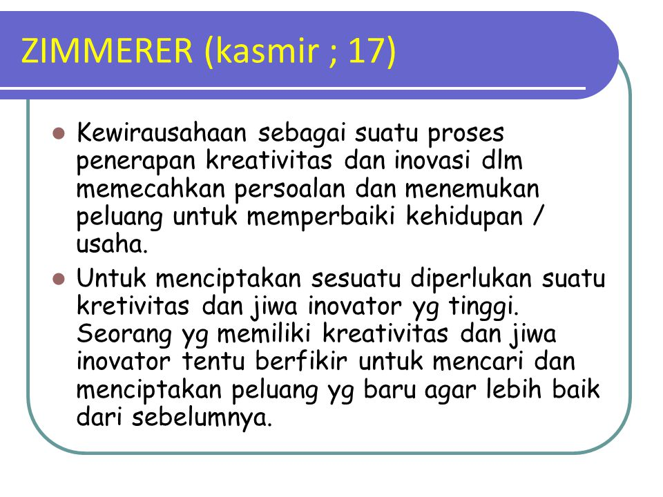 ZIMMERER (kasmir ; 17)