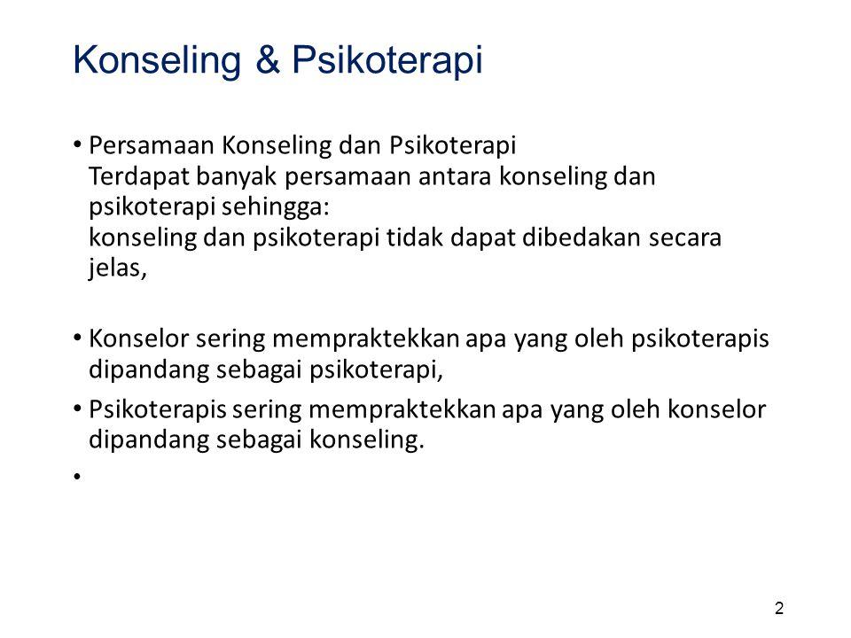 Konseling & Psikoterapi