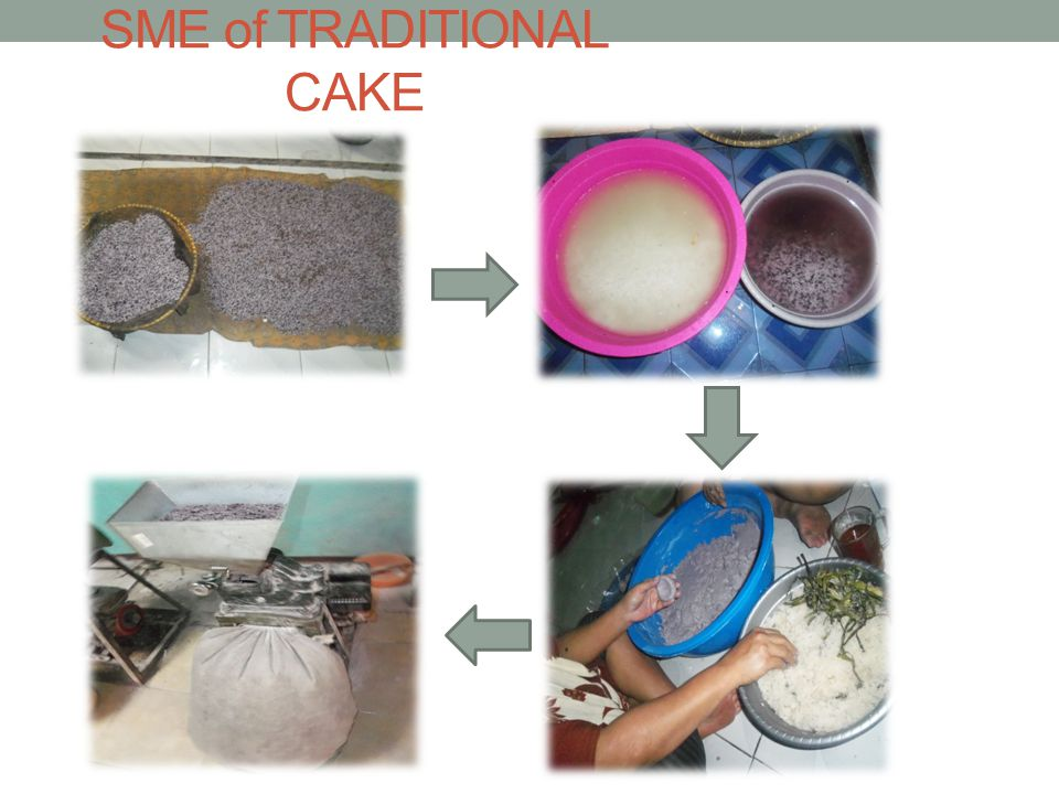 SME of TRADITIONAL CAKE