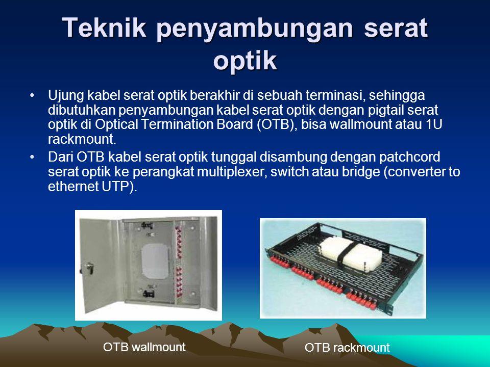 Teknik penyambungan serat optik