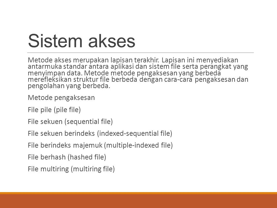 Sistem akses