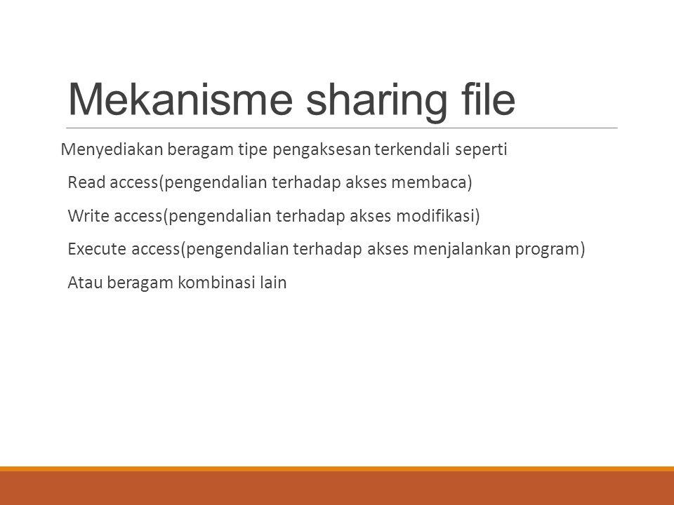 Mekanisme sharing file