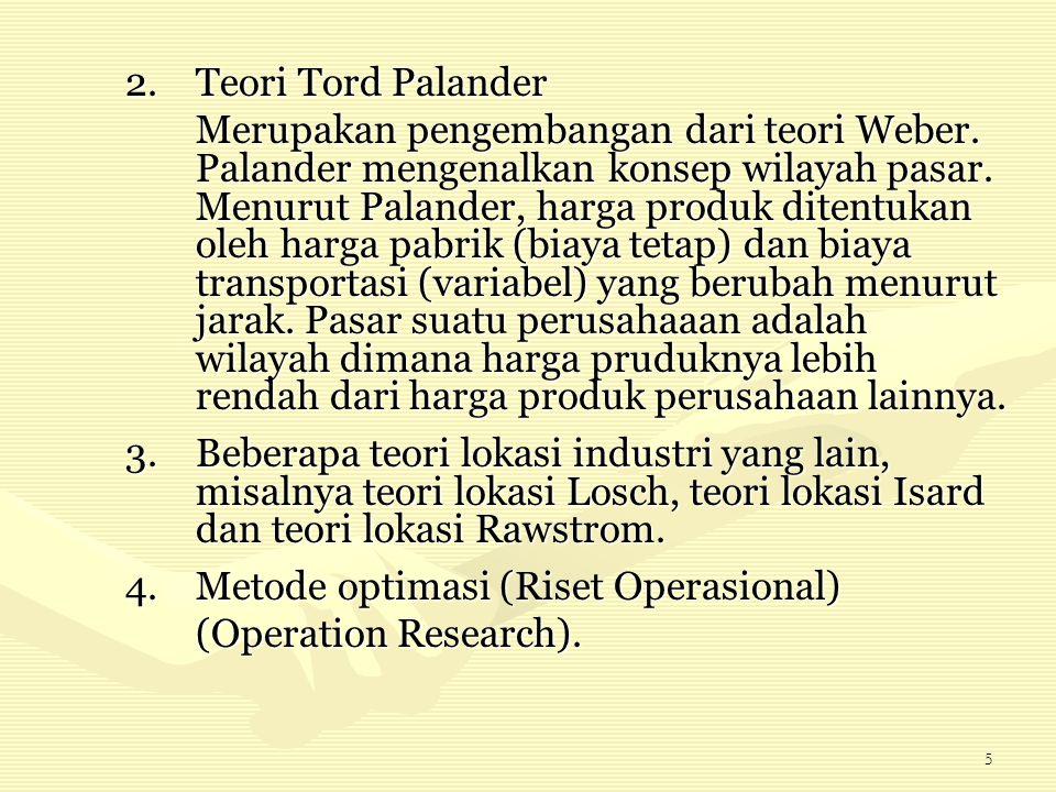 Teori Tord Palander