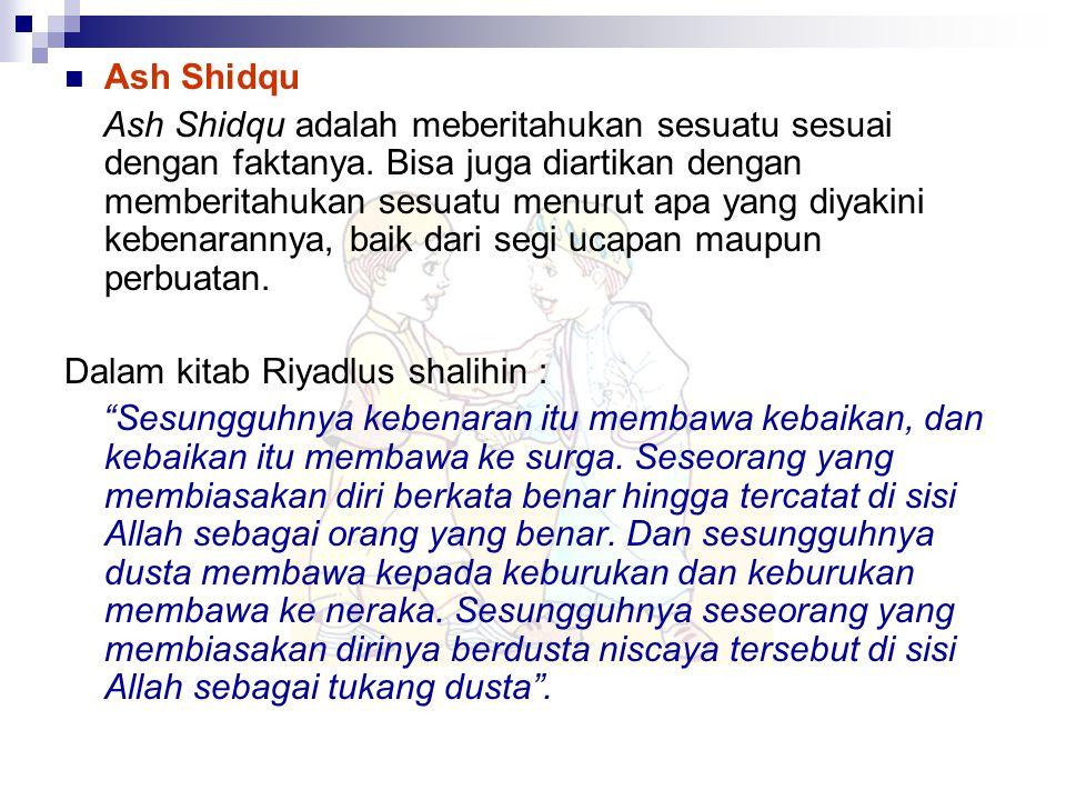 Ash Shidqu