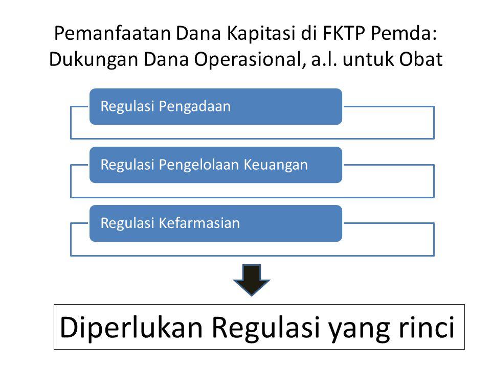 Diperlukan Regulasi yang rinci