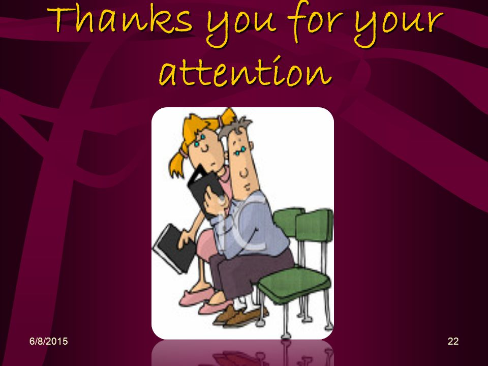 Thanks you for your attention