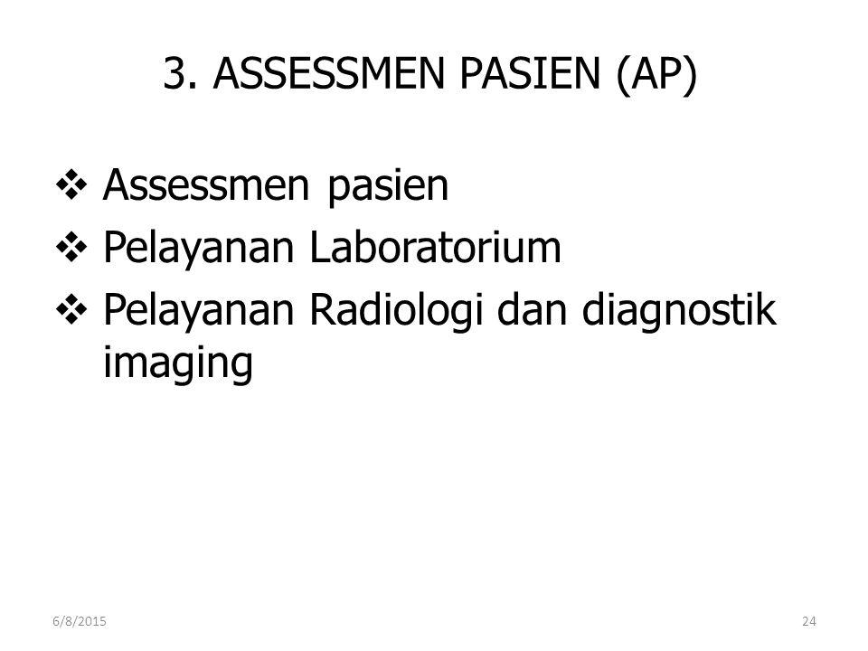 Pelayanan Laboratorium Pelayanan Radiologi dan diagnostik imaging