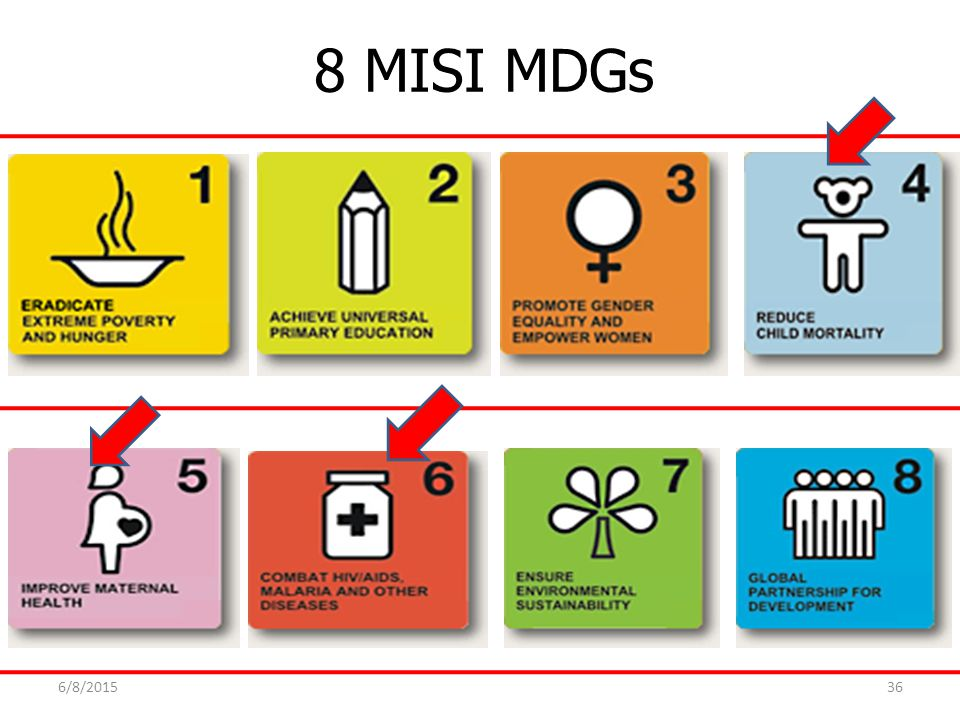 8 MISI MDGs 4/16/2017