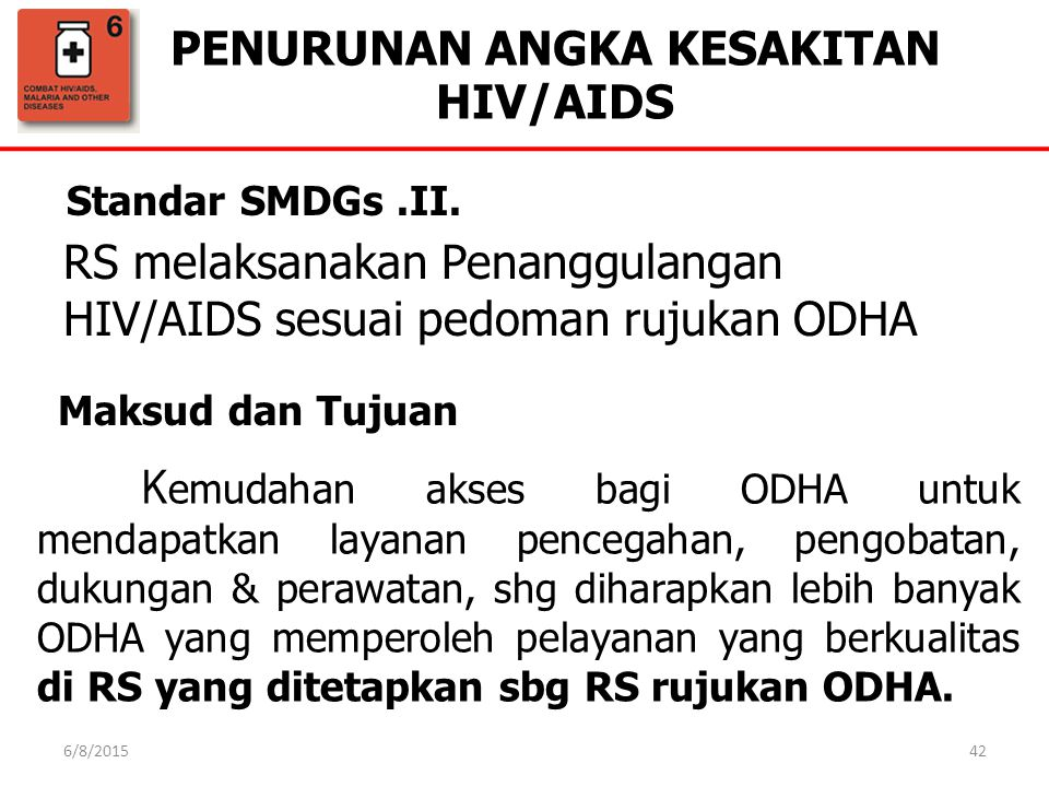 PENURUNAN ANGKA KESAKITAN HIV/AIDS