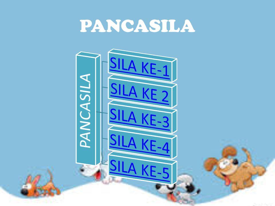 PANCASILA PANCASILA SILA KE-1 SILA KE 2 SILA KE-3 SILA KE-4 SILA KE-5