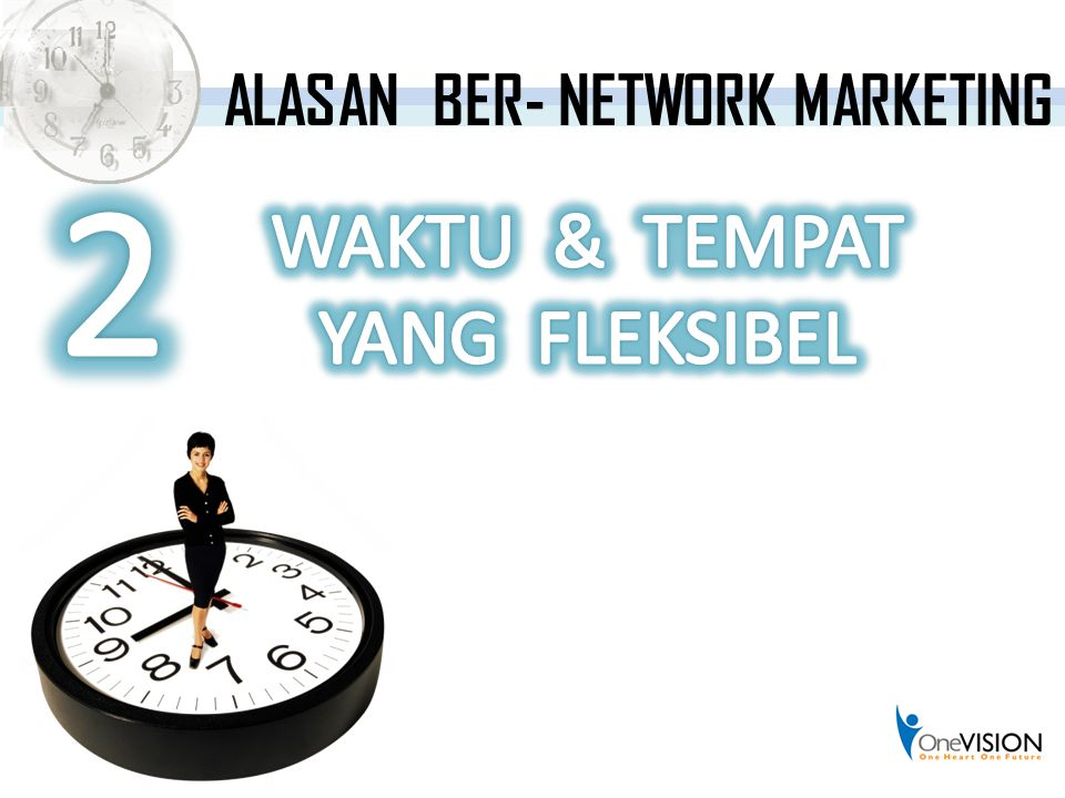 ALASAN BER- NETWORK MARKETING
