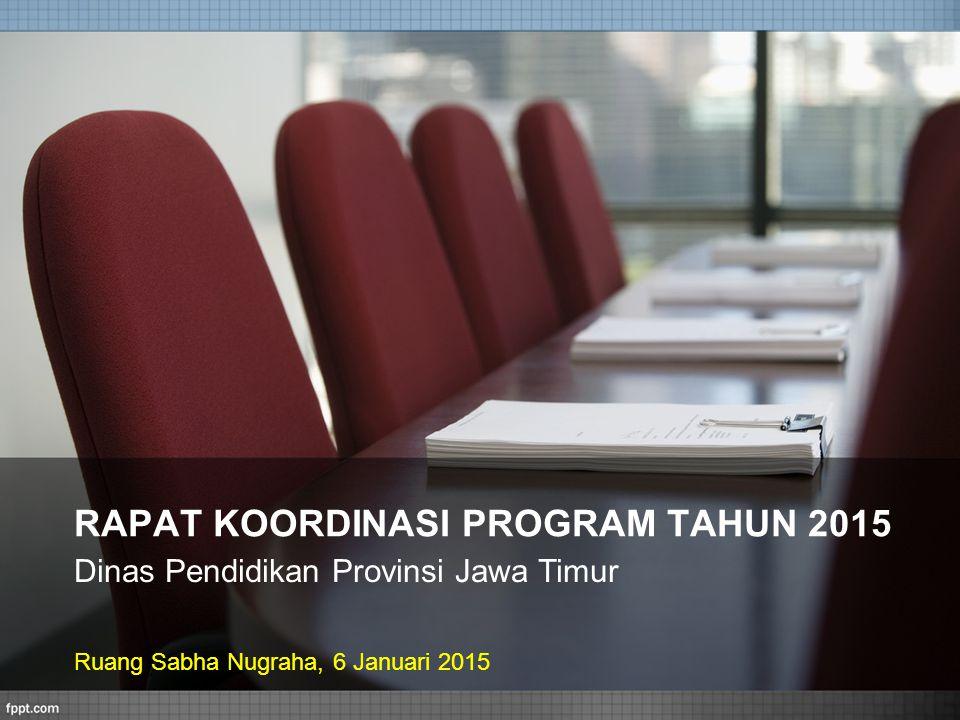 RAPAT KOORDINASI PROGRAM TAHUN 2015