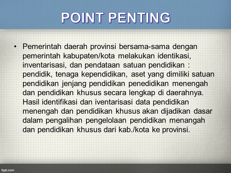 POINT PENTING