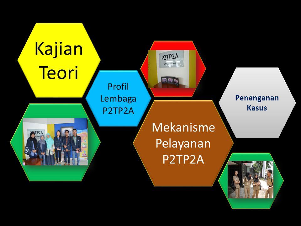 Kajian Teori Mekanisme Pelayanan P2TP2A Profil Lembaga P2TP2A