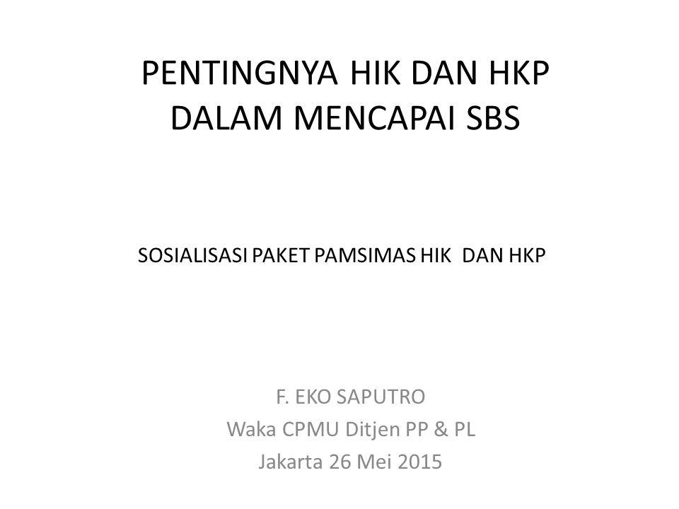 PENTINGNYA HIK DAN HKP DALAM MENCAPAI SBS