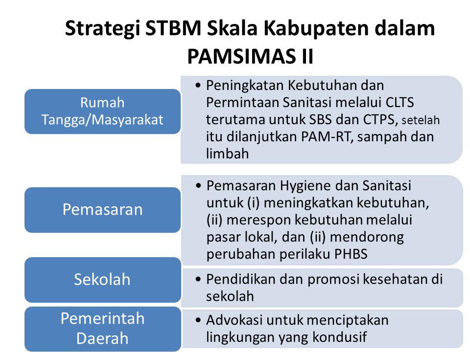 Strategi STBM Skala Kabupaten dalam PAMSIMAS II