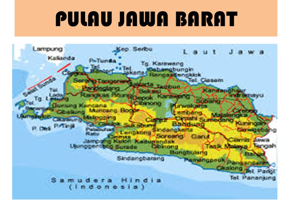 PULAU JAWA BARAT