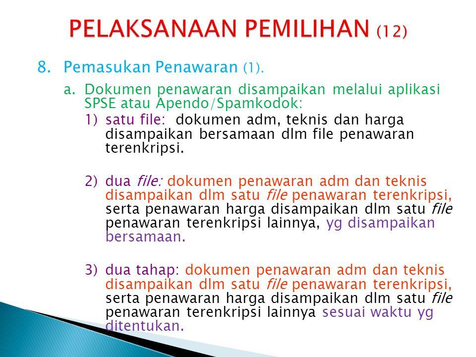 PELAKSANAAN PEMILIHAN (12)