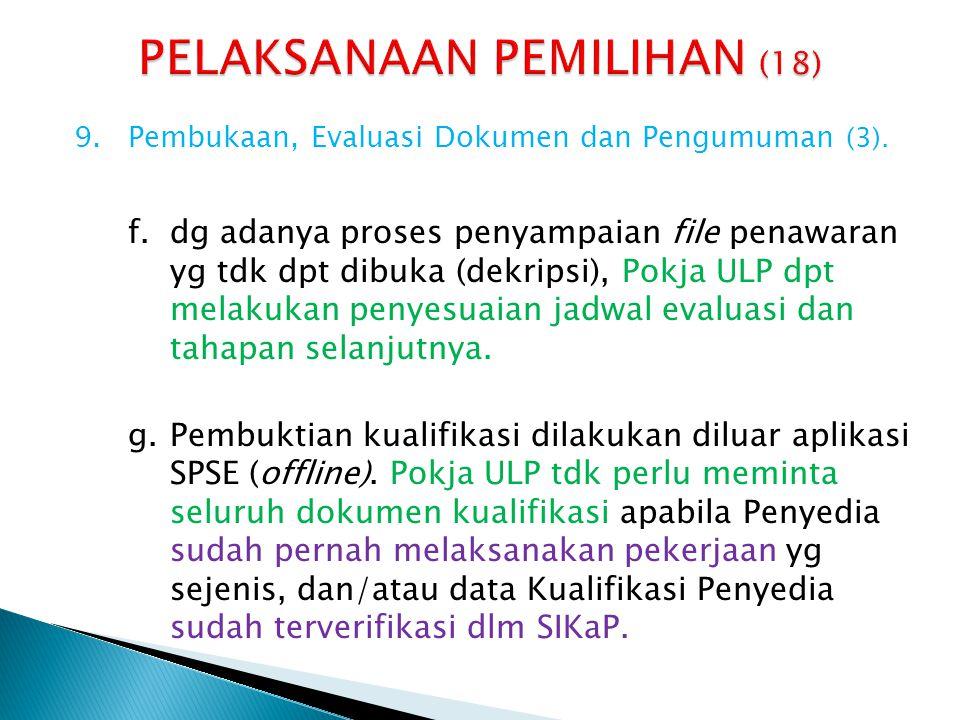 PELAKSANAAN PEMILIHAN (18)