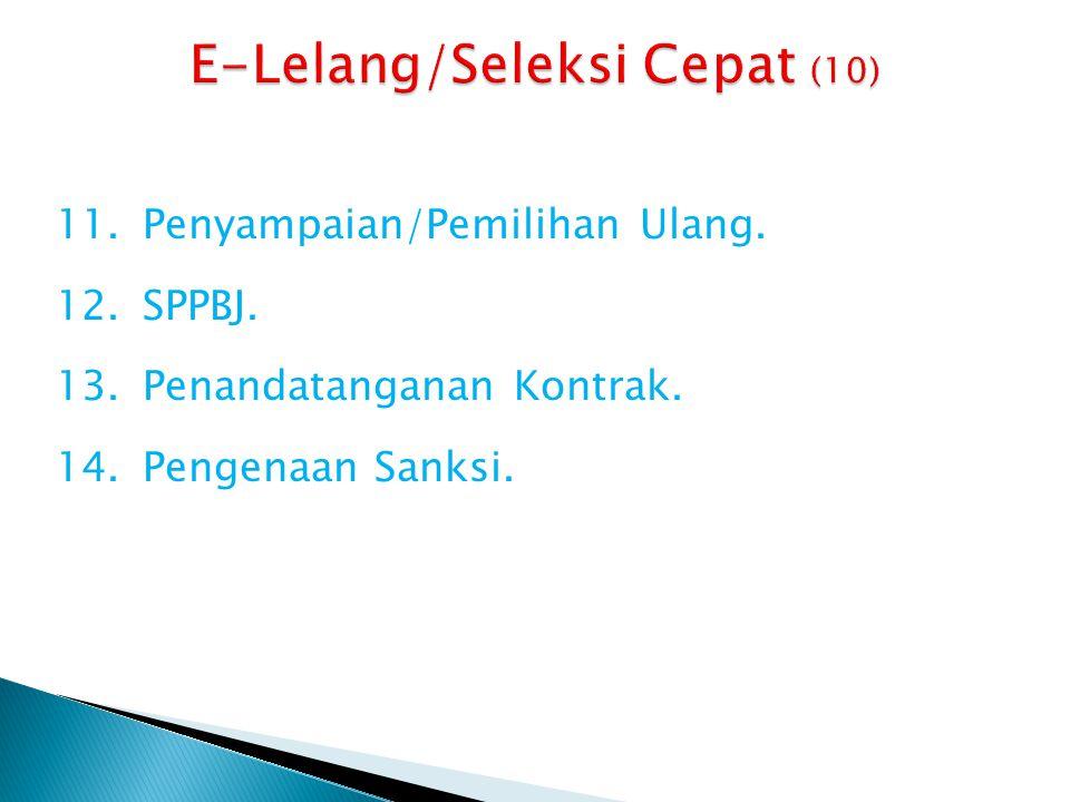 E-Lelang/Seleksi Cepat (10)