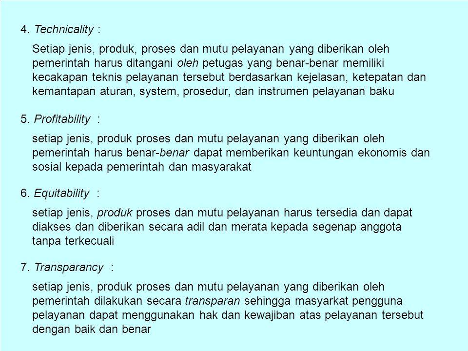 4. Technicality :