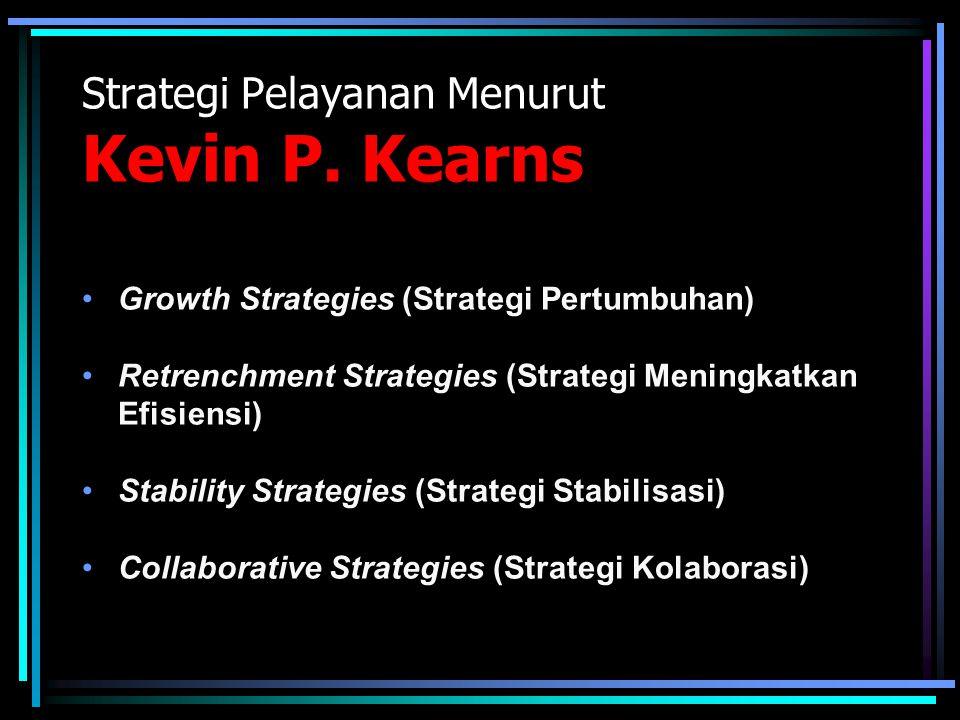 Strategi Pelayanan Menurut Kevin P. Kearns