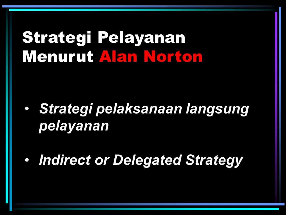Strategi Pelayanan Menurut Alan Norton