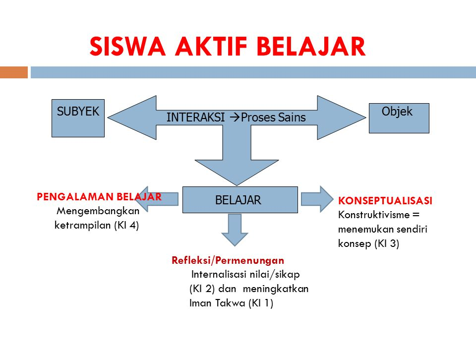 INTERAKSI Proses Sains