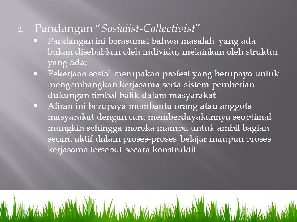 Pandangan Sosialist-Collectivist