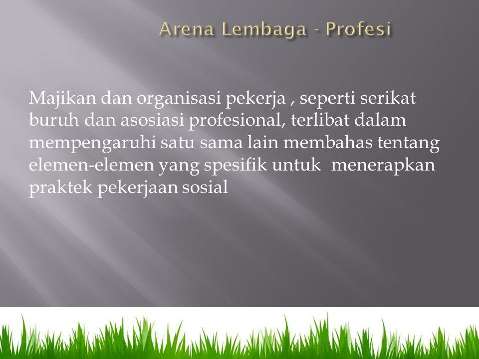 Arena Lembaga - Profesi
