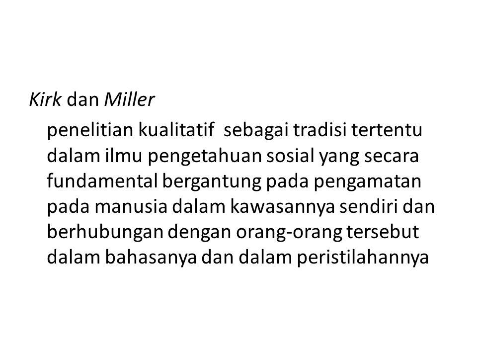 Kirk dan Miller