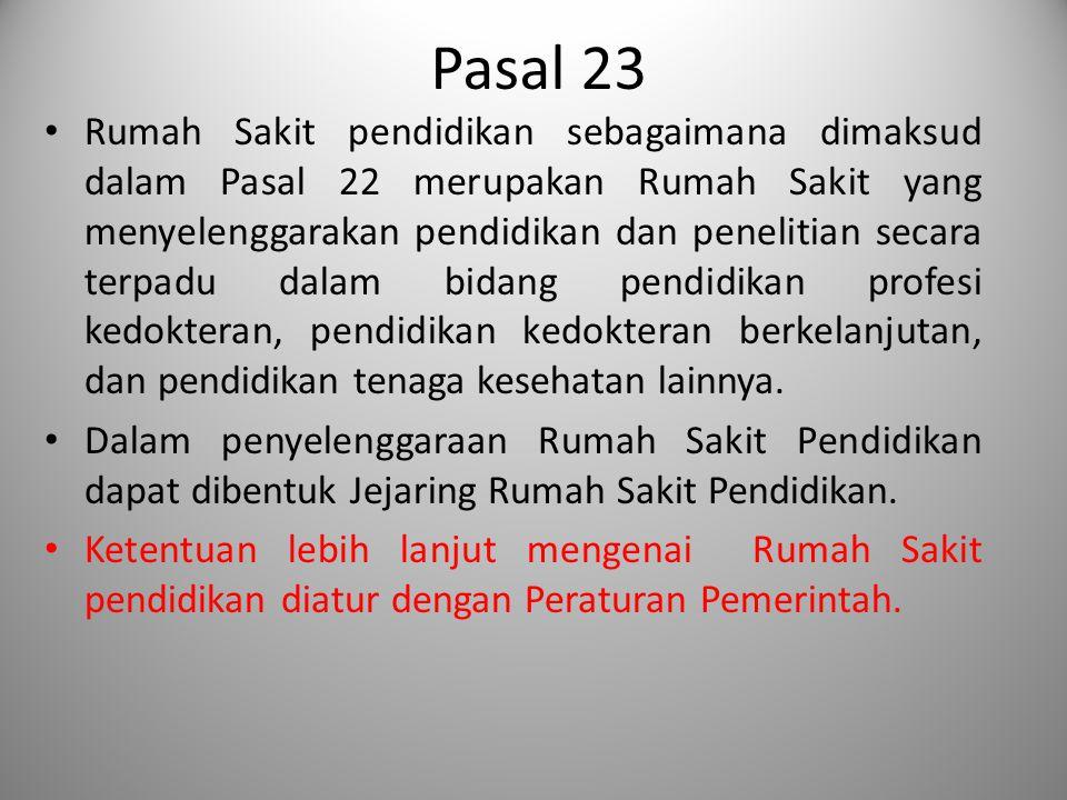 Pasal 23