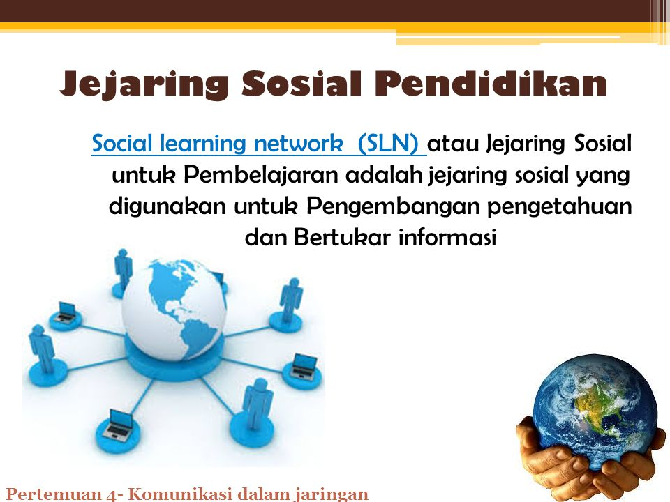 Jejaring Sosial Pendidikan