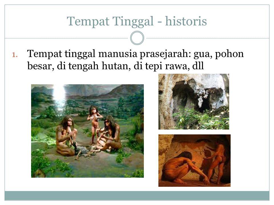 Tempat Tinggal - historis