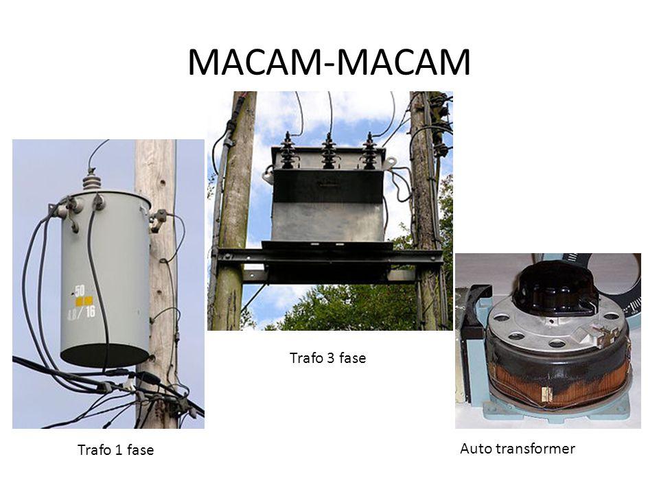 MACAM-MACAM Trafo 3 fase Trafo 1 fase Auto transformer