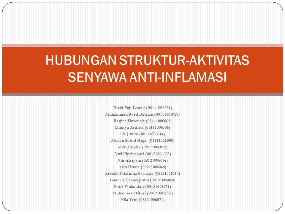 HUBUNGAN STRUKTUR-AKTIVITAS SENYAWA ANTI-INFLAMASI
