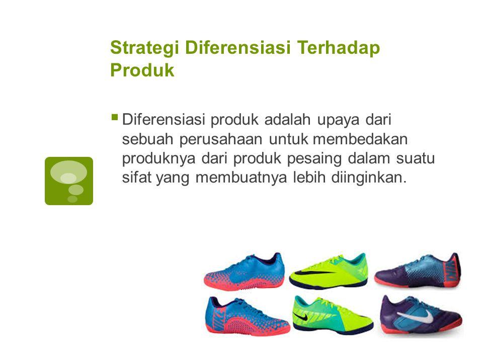 Strategi Diferensiasi Terhadap Produk